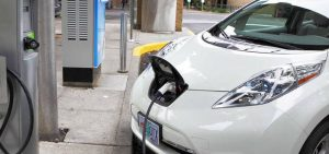 electric car battery recharging